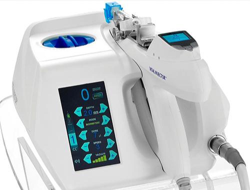 水光注射の施術機械